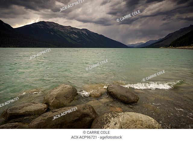 Moose Lake, Mount Robson Provincial Park, North Thompson, British Columbia, Canada