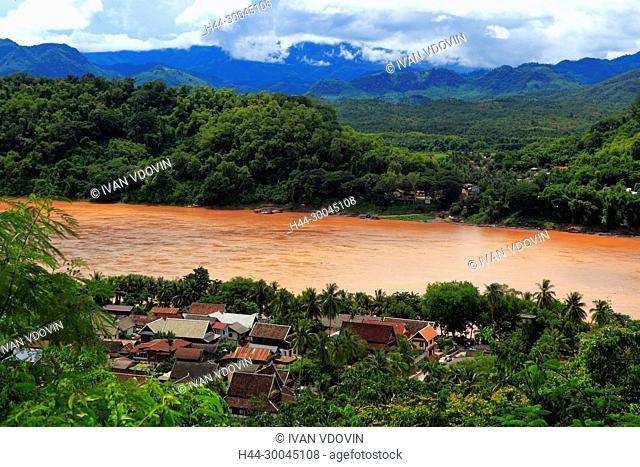 View from Mount Phousi, Luang Prabang, Laos