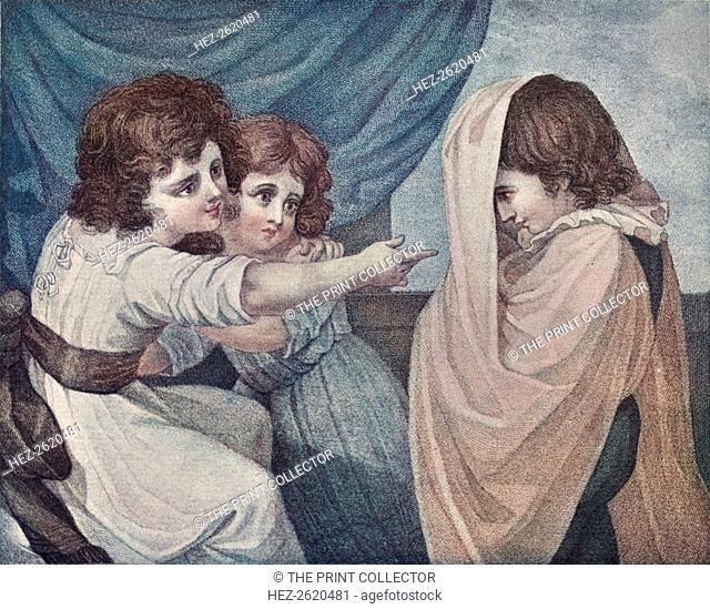 A Ghost: L'Apparition, 1798, (1905). Artist: Jacques Bonnefoy