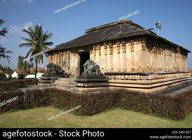 Veera Narayana temple built during the rule of the Hoysala Empire, Belavadi, Karnataka, India