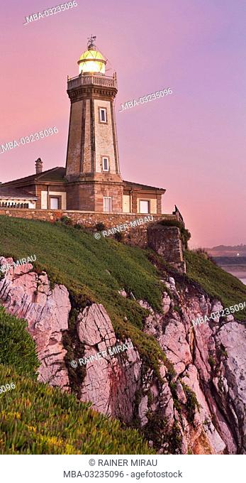 Lighthouse of Avilés, Bay of Biscay, Asturias, Spain