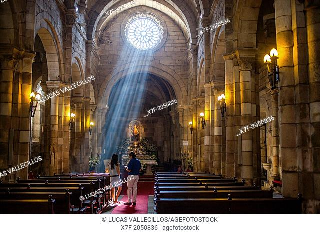 Colegiata De Santa Maria Del Campo Coruña City Galicia Spain Stock Photo Picture And Rights Managed Image Pic X7f 2050836 Agefotostock