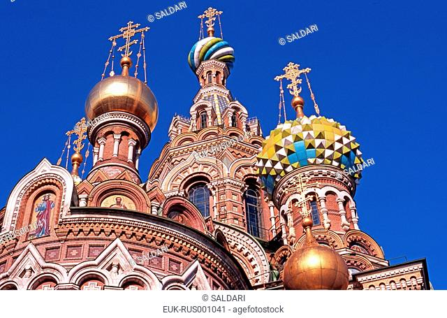 Church of the Savior on Blood, Saint Petersburg,Russia