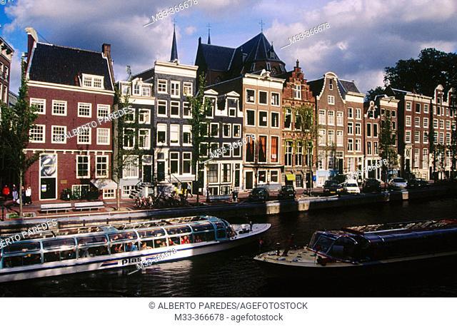 Herengracht street. Amsterdam. Netherlands