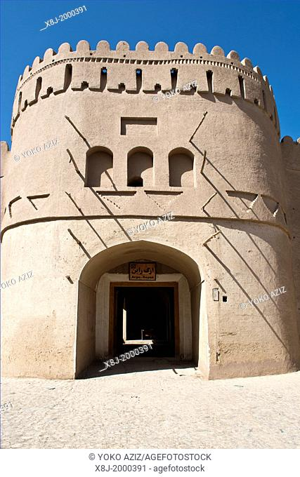 Asia, Iran, Rayen, Arg E Rayen citadel