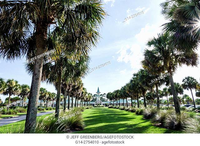 Florida, St. Saint Lucie, PGA Golf Club at PGA Village, entrance