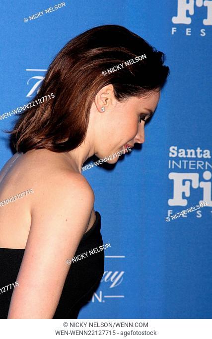 2015 Santa Barbara International Film Festival Cinema Vanguard Award Featuring: Felicity Jones Where: Santa Barbara, California