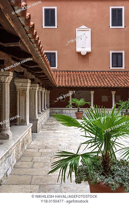 Cloisters, Church and monastery of St. Francis, Split, Croatia