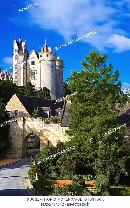 Montreuil Bellay, Castle, Maine et Loire, Pays de la Loire, Loire Valley, Saumur District, France