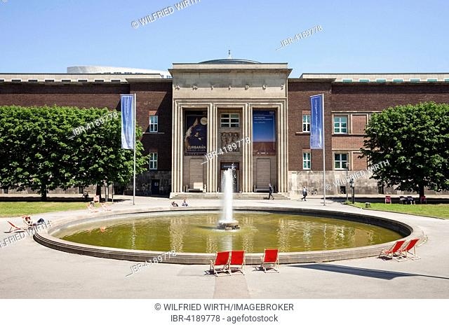 Kunstpalast museum, Ehrenhof cultural centre, Düsseldorf, Rhineland, North Rhine-Westphalia, Germany