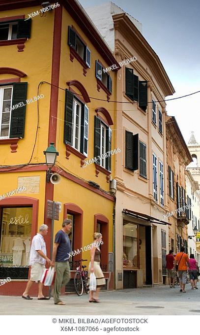 Old quarter  Ciudadela, Minorca, Balearic Islands, Spain