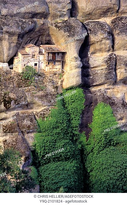 Ypapanty Monastery part of Holy Monastery of the Great Meteoron Meteora Thessaly Greece