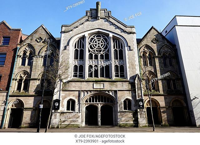 donegall street congregational church Belfast Northern Ireland uk