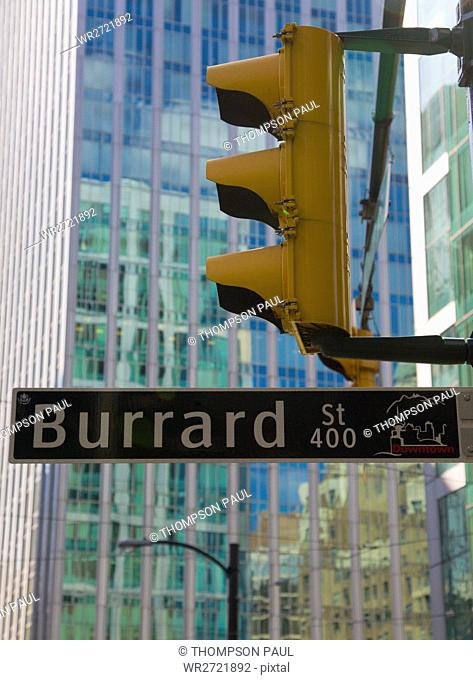Burrard Street, Downtown, Vancouver, British Colum