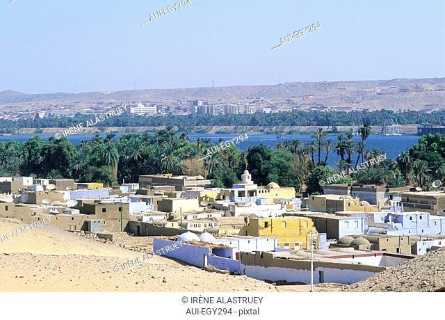 Egypte - Basse Nubie - Assouan - Village Nubien