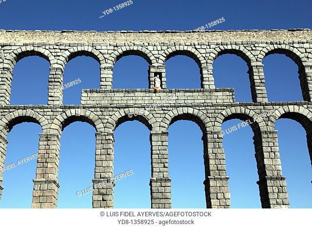Old Aqueduct of Segovia, Spain
