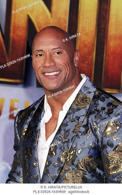 """Dwayne Johnson 12/09/2019 """"""""Jumanji: The Next Level"""""""" Premiere held at the TCL Chinese Theatre in Hollywood, CA. Photo by K. Hirata / HNW / PictureLux"""
