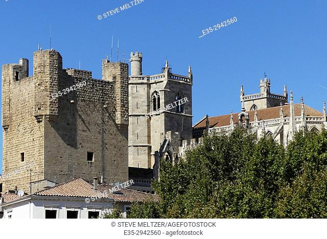 The Archbishop's palace in Narbonne France