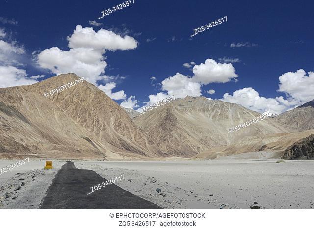 Sand Dunes near Nubra Valley, Ladakh, India