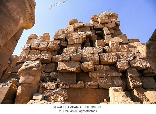 Karnak Temple, Luxor, Upper Egypt