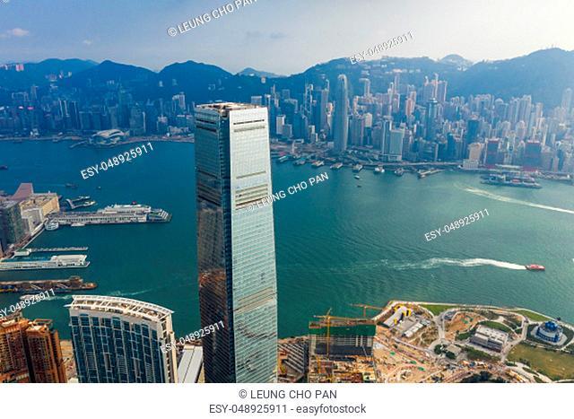 Kowloon West, Hong Kong, 14 September 2018:- Hong Kong city