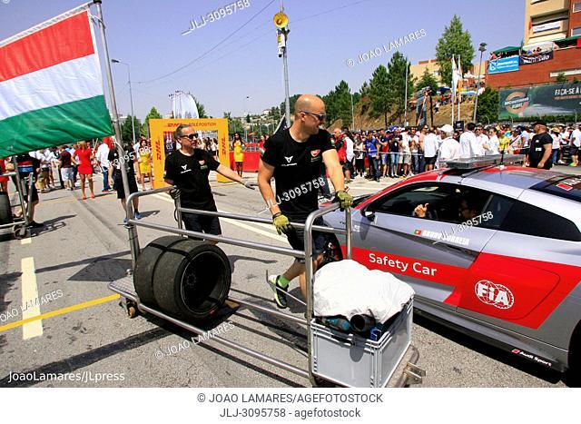 Starting Grid Action, WTCR Race of Portugal, Vila Real 23-25 de June 2018
