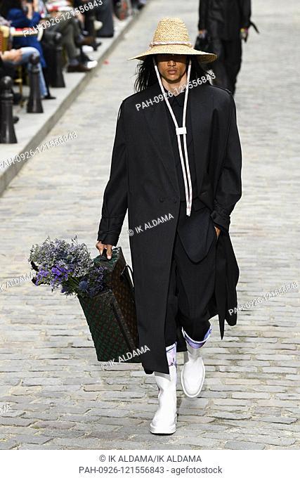 LOUIS VUITTON runway show during Paris Fashion Week Menswear SS20, PFW Homme Spring Summer 2020 Collection - Paris, France 20/06/2019 | usage worldwide