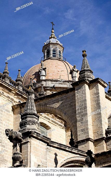 Cathedral of Jerez de la Frontera, Costa de la Luz, Andalusia, Spain, Europe