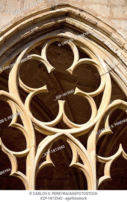 Santes Creus Monastery  Part of the Cistercian Route in Tarragona, Catalonia, Spain