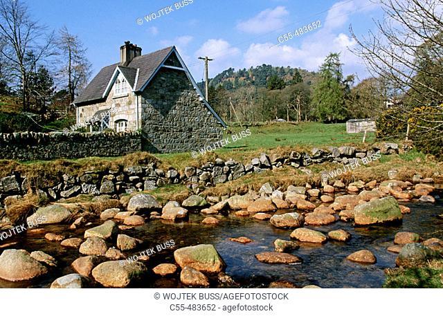 Upper Lake. Glendalough. Wicklow Gap. Co. Wicklow. Ireland