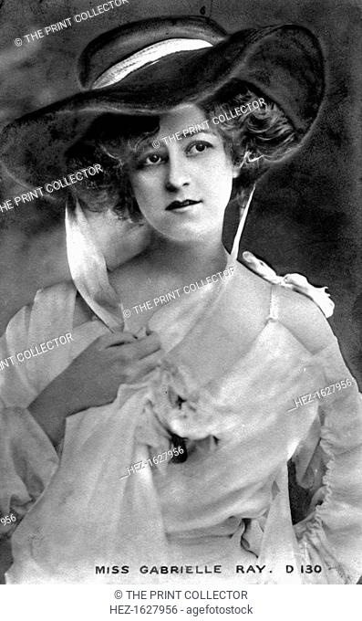 Gabrielle Ray (1883-1973), English actress, early 20th century
