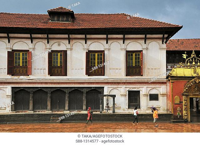 National Art Gallery in Durbar Square UNESCO World heritage site