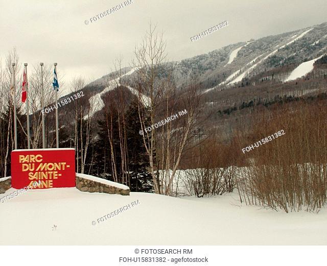 Beaupre, Quebec City, Quebec, Canada, Parc Du Mont-Sainte-Anne, Ski Resort, downhill skiing