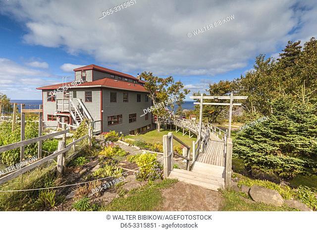 Canada, Nova Scotia, Cabot Trail, Pleasant Bay, Gampo Abbey, Tibertan Buddhist Monastery