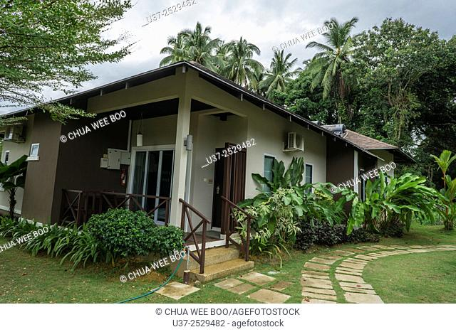 Retreat Resort operated by Sarawak bank union employees in Lundu, Sarawak, Malaysia