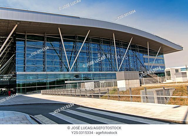 Lavacolla airport, Santiago de Compostela, La Coruña province, Region of Galicia, Spain, Europe