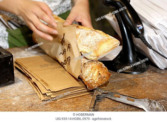 French Bread, Vaison-la-Romaine, France