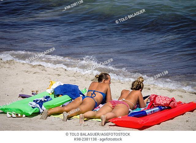 playa de Son Bauló, Can Picafort, municipio de Santa Margarita, Bahia de Alcudia,islas baleares, Spain