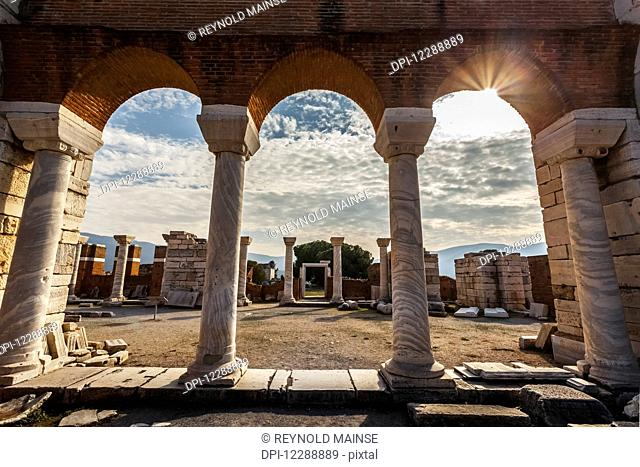Tomb of Saint John and Saint John's Basilica; Ephesus, Turkey