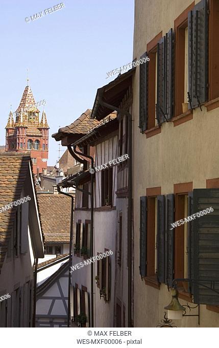 Switzerland, Basel, view at city hall