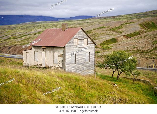 A building in the countryside, Iceland