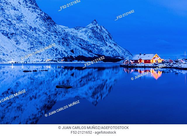 Lofoten Archipelago, Nordland county, Norway, Arctic Circle, Europe