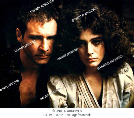Blade Runner, (BLADE RUNNER) USA 1982, Regie: Ridley Scott, HARRISON FORD, SEAN YOUNG