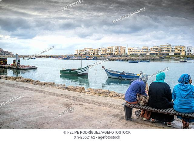 Bou Regreg River, Rabat, Morocco
