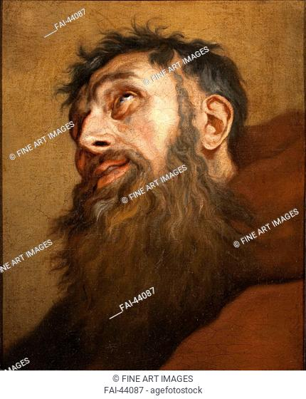Saint Francis by Dyck, Sir Anthony van, (Studio of) /Oil on canvas/Baroque/c. 1660/Flanders/Museum Catharijneconvent, Utrecht/Bible/Painting/Heiliger Franziskus...