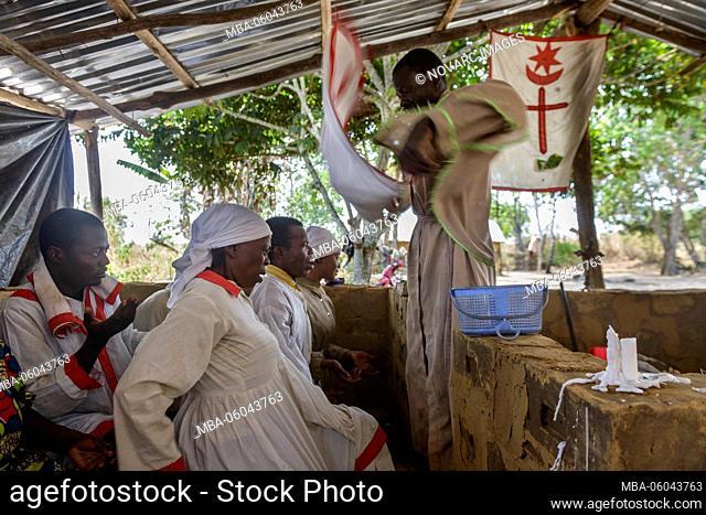 Church in Africa spiritual healing and mass in the Republic of the Congo