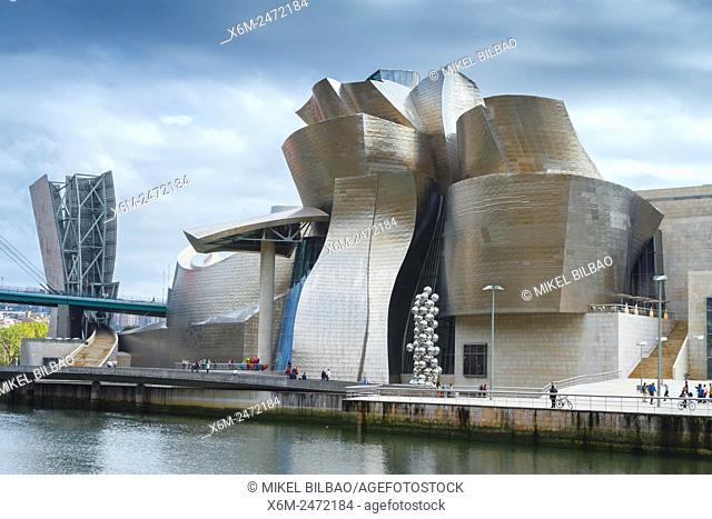 Guggenheim Museum of Art. Bilbao, Biscay, Spain, Europe