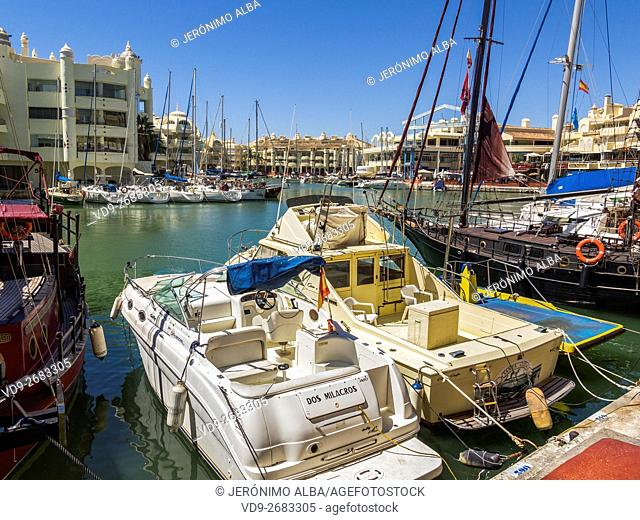 Puerto Marina, Benalmádena. Costa del Sol, Málaga province. Andalusia, Southern Spain Europe