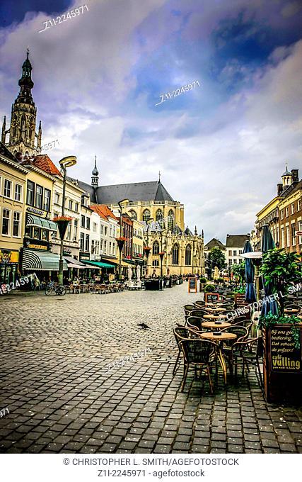 The Grote Markt Breda City Centre Holland