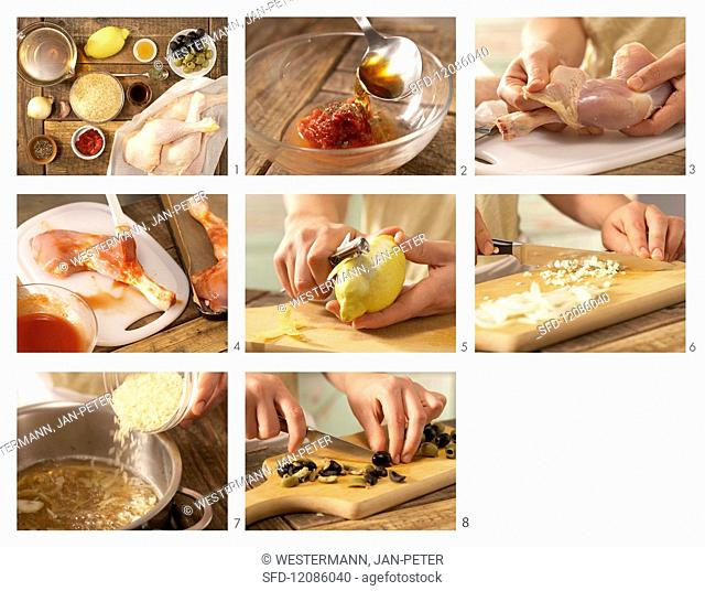 How to prepare marinated chicken legs